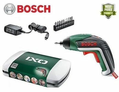 Bosch IXO Cordless Lithium-Ion Screwdriver with 3.6 V Battery, 1.5 Ah BRAND NEW