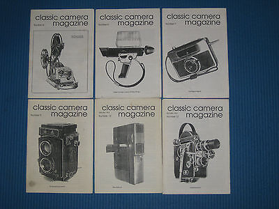 """6 Issues Rare """"Amateur"""" Classic Camera Magazine 1989-1991, Photography 35mm 8mm"""