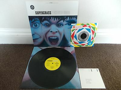"SUPERGRASS - I Should Coco(UK 1995 1ST PRESS VINYL ALBUM + 7"" SINGLE / MINT!!!)"