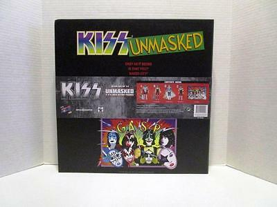 KISS Unmasked 3 3/4-Inch Action Figures Deluxe Box Set - EE Convention Exclusive