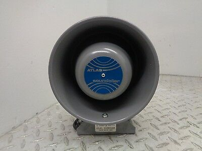 Nib Atlas Soundolier M0-2 Loud Speaker Heavy Duty 25W 8 Ohms
