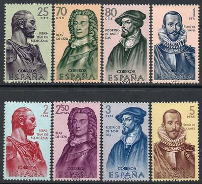 SPAIN MNH 1961 SG1435/42 History of Discovery and Conquest of America