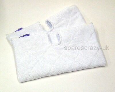 To Fit Shark Liftaway Steam Pocket S2901 Microfibre Mop Cleaning Pad 2 Pack