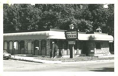 Union Square Diner / Unknown Real Photo / RP / circa 1960's / Lot L638