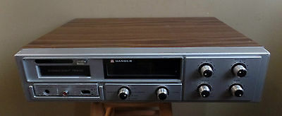 Vintage CANDLE 8 TRACK Am/Fm Stereo Receiver PLAYER~ Works