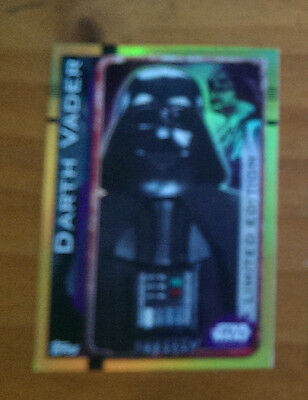 Star Wars Rogue One Topps Trading Cards (2016) - Darth Vader Limited Edition
