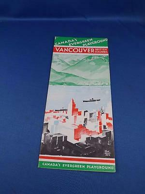 Canadas Evergreen Playground Travel Brochure Vancouver British Columbia