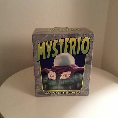 Mysterio Mini Bust Bown Designs Spider-Man