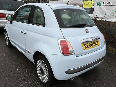 2008 Fiat 500 Lounge 1.4 Fabulous Flagship Model,pan Glass Roof, 6 Speed,climate