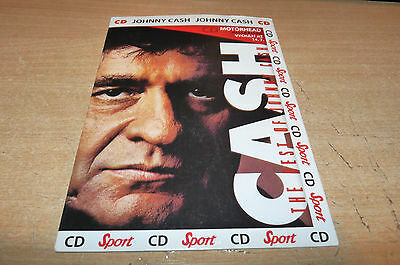 Johnny Cash - Unusual Cd In A5 Size Sleeve - Released In 1995 - Please Look.
