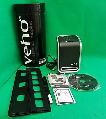 Veho VFS-004 Deluxe 35mm Film & Slide Scanner, With Case, (m2)
