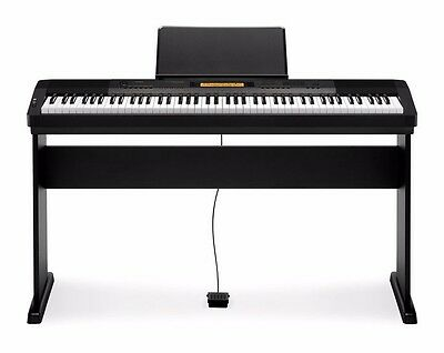 Casio CDP-230R BK 88 Key Digital Piano Keyboard w/ Stand and Piano Bench