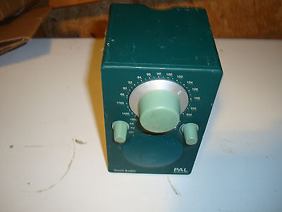 RADIO DE TABLE TIVOLI AUDIO PAL Henry Kloss TUNER AM / FM ANALOGIQUE Vert