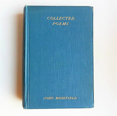 SELECTED POEMS of JOHN MASEFIELD. 1931 edition. HEINEMANN publishers