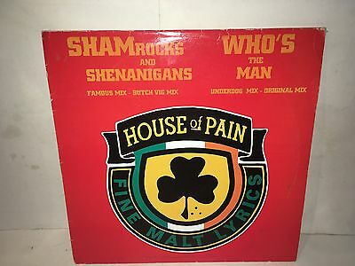 "House Of Pain Shamrocks And Shenanigans 12"" Single"