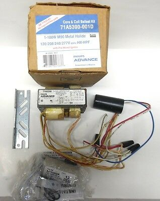 Advance Core And Coil Ballast Kit, 71A5390-001D, 1-100W M90 Metal Halide