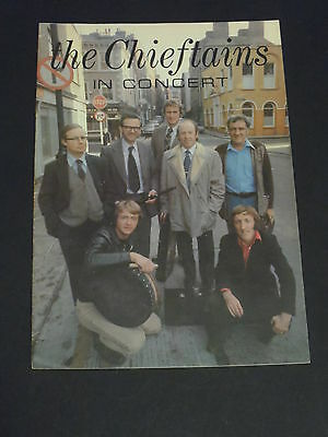 """The Chieftains In Concert""  Programme 1978"