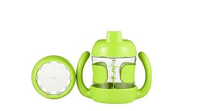Oxo Tot Sippy Cup Set With Training Lid 7 Ounce Green