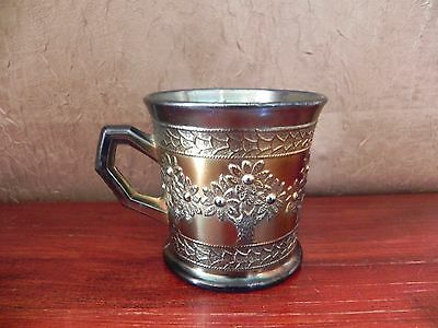 Vintage Fenton Carnival Glass Tree Coffee Tea Mug Cup