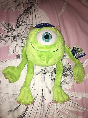 Monsters inc Mike soft toy