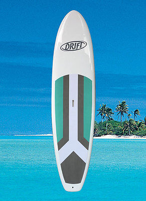 """SUP Stand Up Paddle Board + leash + paddle Duratek 10'6"""" durable paddleboard NEW"""