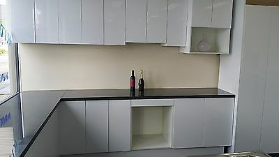 Flat Pack Kitchen - Complete with Quartz Stone Bench Tops