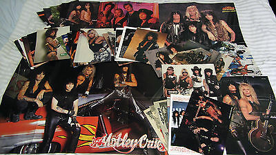 MOTLEY CRUE POSTER*S : A-1;A-2;A-3  (Tommy Lee+Vince Neil) +30 Pin UP