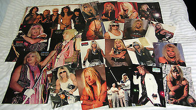 MOTLEY CRUE POSTER*S : A-2;A-3  (Vince Neil) +24 Pin UP