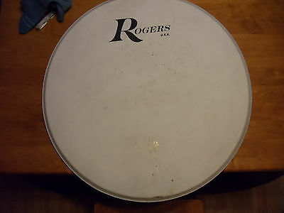 "Rogers 24"" Bass Drum Head"