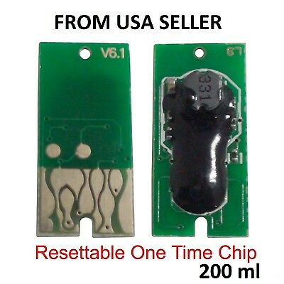 11 one time use cartridge chip for epson stylus pro 4900 refillable cartridge zz