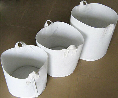 5 Pack 5Gallon Round Fabric Planter Container Pouch Root Grow Bag Aeration Pot