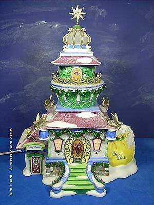 Department 56 North Pole Disney Fairies TINKERBELL'S LIGHTHOUSE (2008) Retired.