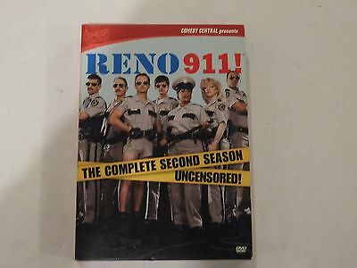 Reno 911 DVD The Complete Second Season 3 Disc Set FREE SHIPPING
