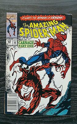 Amazing Spider-Man #361 1st Appearance Carnage lots of pictures