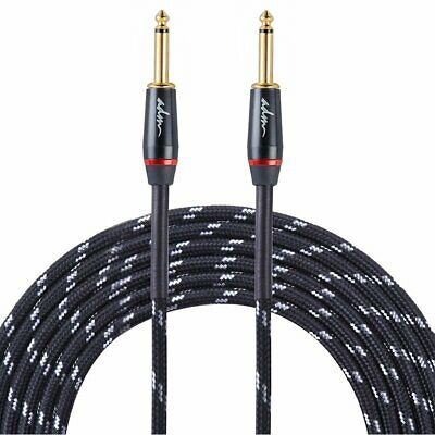ADM 10FT 3M Noiseless Musical Instruments Electric Guitar & Bass Cable/ Amp Cord