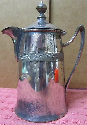 Vintage Reed & Barton 01670 Silverplate Lidded Creamer Free Shipping