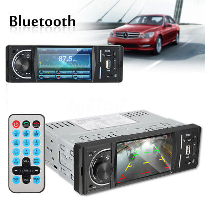 Car 1 DIN Head Unit Stereo MP4/MP5 Player Android Bluetooth Touch FM Radio USB