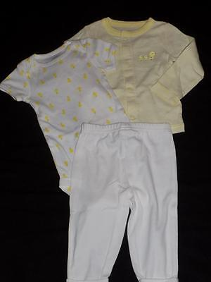 NWT Unsisex Ducks 9 Month Carter's 3 Piece Outfit Bodysuit and Leggings