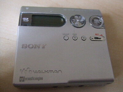 Sony MZ-N910 Walkman Personal Minidisc Player Recorder Net MD NO ACCESSORIES