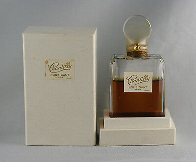 """Vintage """"chantilly"""" Perfume By Houbigant--Paris--Sealed In Box"""