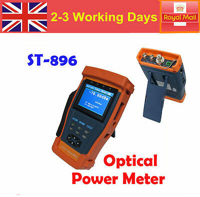 """In UK! 3.5""""LCD Monitor CCTV Security Tester Camera Video PTZ Optical Power ST896"""