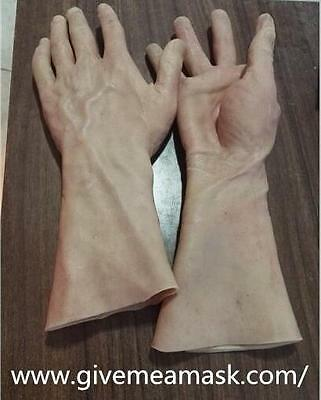 Silicone Rubber male Glove realistic texture from zhe human