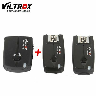 Viltrox Wireless Remote Studio Strobe Flash Trigger Shutter Release For Canon