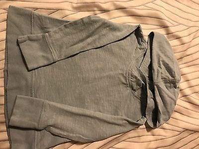 OLD NAVY Toddler Pullover Size 3T Hoodie With Pockets Light grey