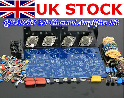 Douk Audiophile Hi-Fi 2.0 Channel Amplifier Stereo Amp Board DIY Kit  1Set