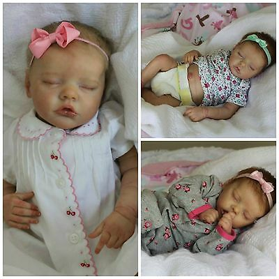 *CUSTOM* REBORN DOLL NEWBORN BABY GIRL/BOY, TWIN A OR B by Bonnie Brown