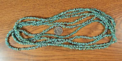"""~18"""" strand~  Genuine CARICO LAKE Turquoise Small Nugget Chip Beads"""