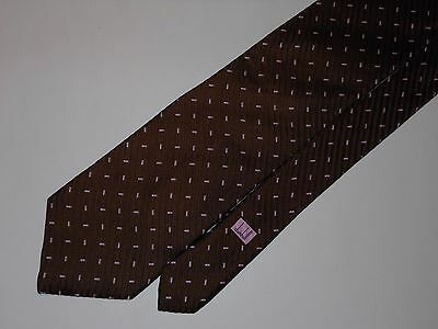 #782-1 Dunhill Made In Italy Classy All Silk Tie