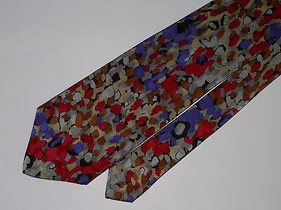 #760-8 Brioni Made In Italy Brilliant Colorful High Quality All Silk Tie
