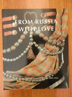 Book From Russia with love. costumes for the ballets